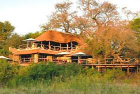 Jock Safari Lodge and Spa exterior.